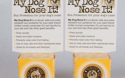 Dog Nose Sunscreen